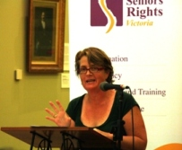 Seniors Rights launch Karen Toohey