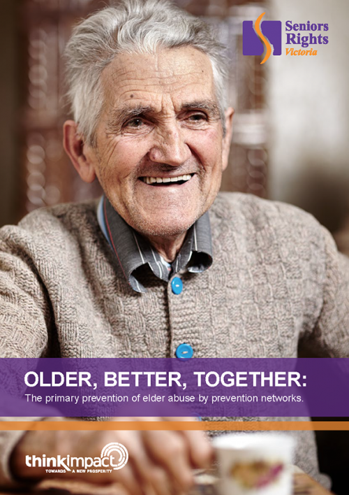 Cover of Older Better Together report