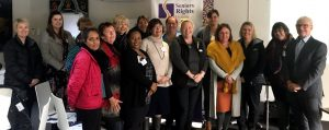 Attendees at the World Elder Abuse Awareness Day (WEAAD) forum in Shepparton, with Gerard Mansour.